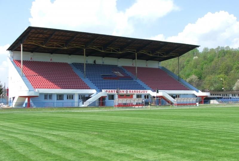 1bf176bef2 Futbalový štadión Bardejov - PESMENPOL - Komplexné vybavenie ...