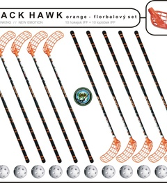 Set MPS Black Hawk (10 hokejok + 10 loptičiek)